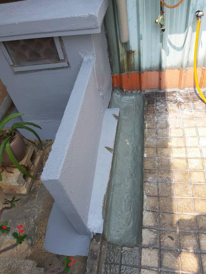 頂樓管道斷水路