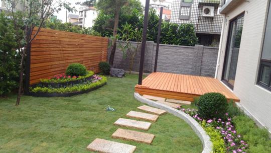 桃園草皮/綠籬造景工程