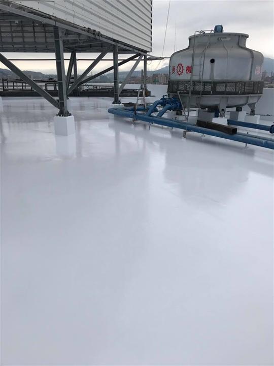 屋頂PU防水隔熱工程