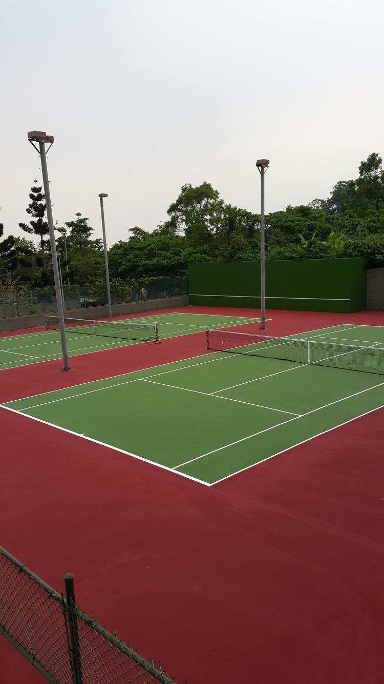 社區網球場壓克力地坪