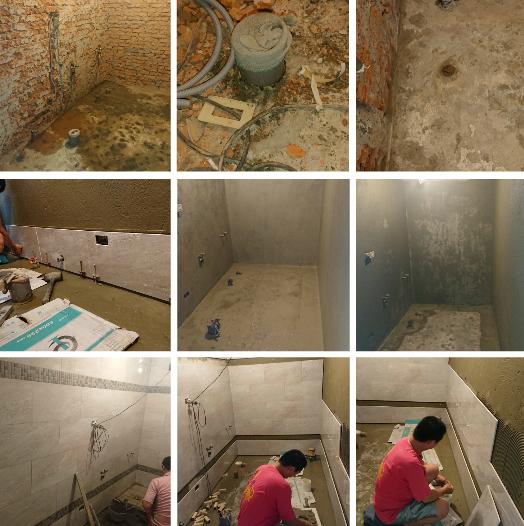 2-給排水管設置、高低壓電力申請