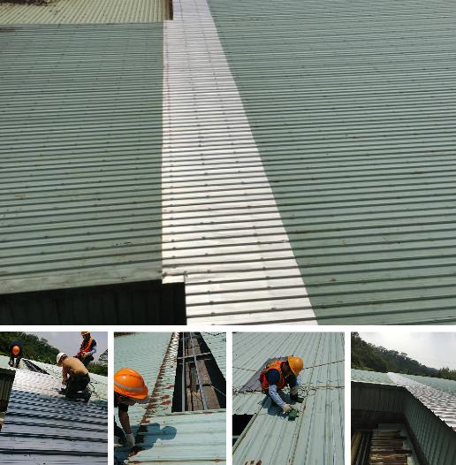 3-鐵皮屋修繕、鐵皮屋工程、鐵皮屋翻修