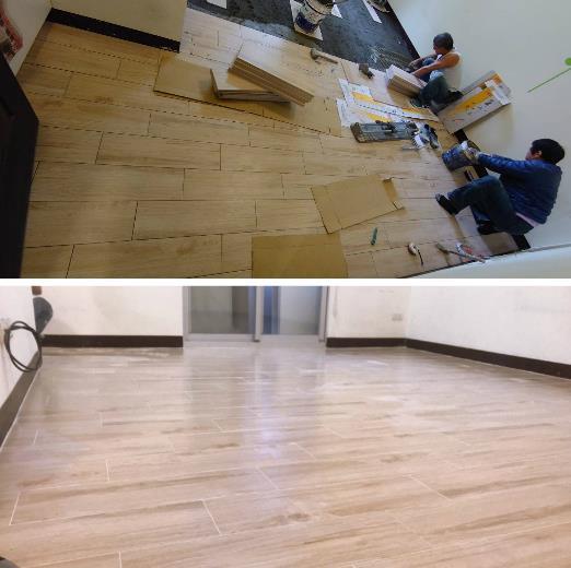 11-地板施工、地板工程