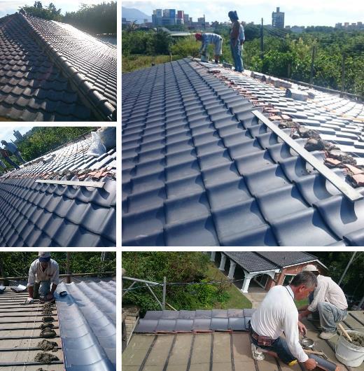 27-屋瓦修繕、屋瓦工程