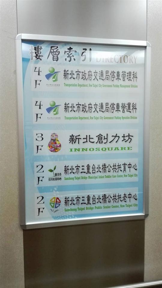 電梯內樓層索引