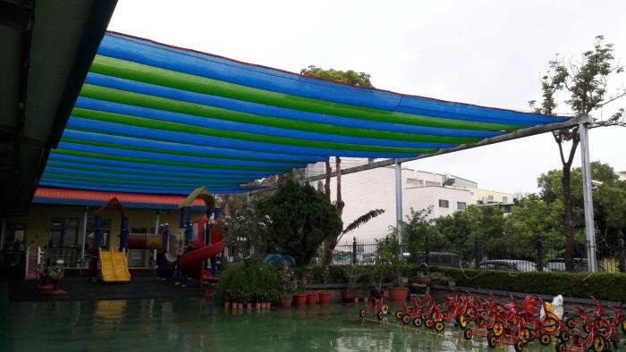 幼兒園遮陽網