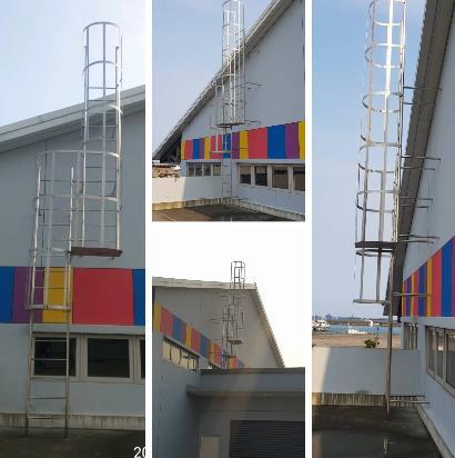 不銹鋼爬梯、白鐵爬梯