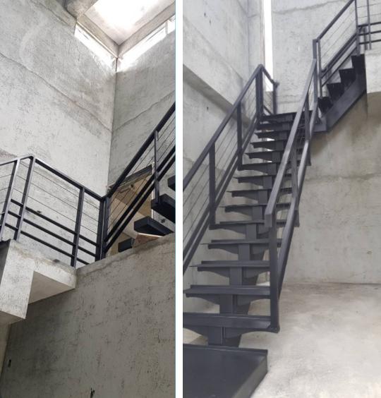 不銹鋼樓梯、白鐵樓梯