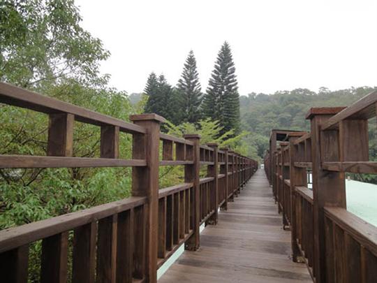 棧道、欄杆-南方松