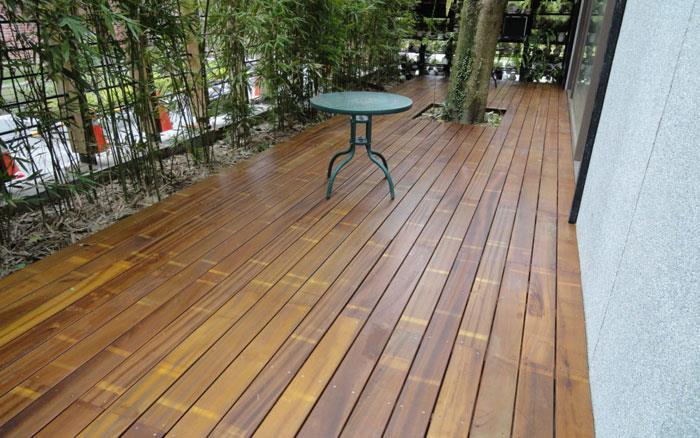 戶外地板-金檀木