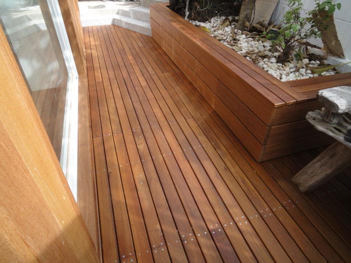 戶外地板-婆羅洲鐵木、南洋櫸木