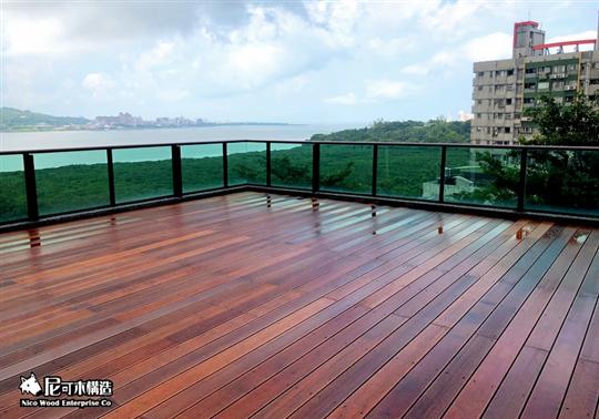 戶外地板-太平洋鐵木