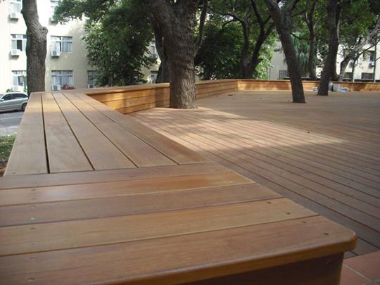 鋼構木平台-婆羅洲鐵木