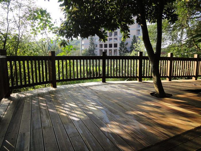 棧道、欄杆-南美柚木