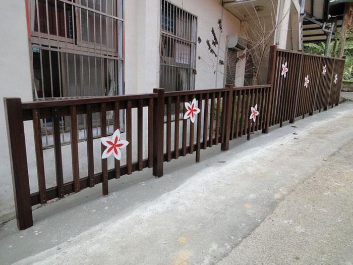 圍籬-南美柚木