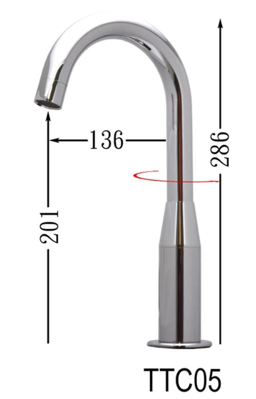TTC05-觸控商用電子水龍頭