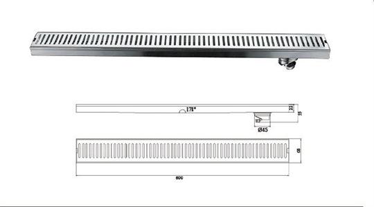 Q-T120FY-直條形地漏
