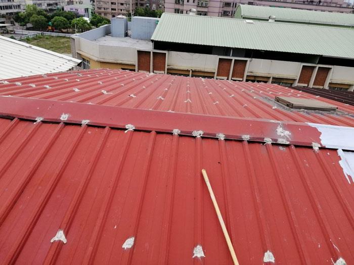 鐵皮隔熱防水-施工前