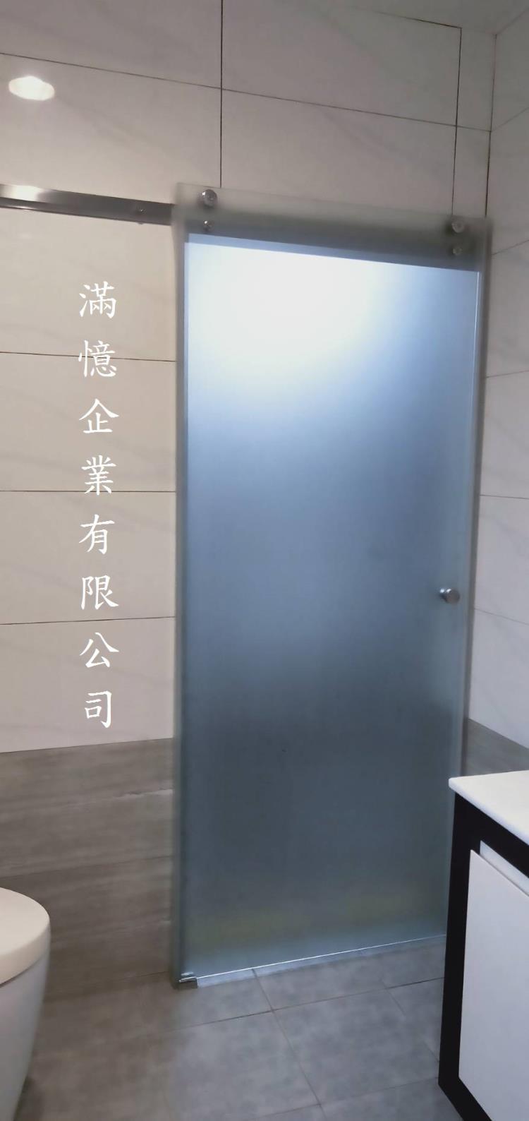 浴室通道門