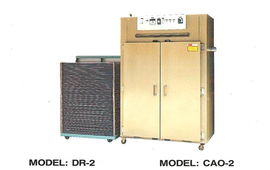 台車式熱風烤箱CAO-2
