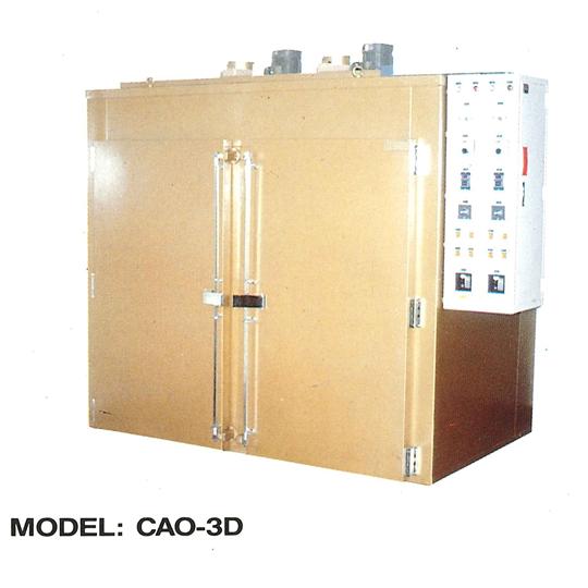 台車式熱風烤箱CAO-3D