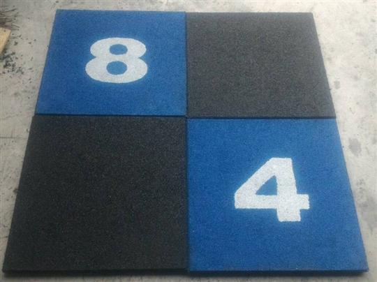 地墊配置參考 藍黑配