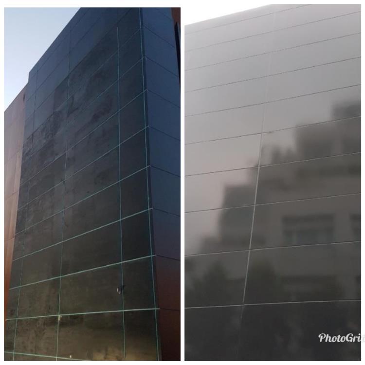 MAZDA旗艦店-外牆鋁板塗裝