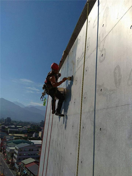 外牆繩索作業