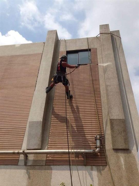 外牆繩索技術員