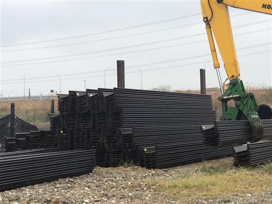 新品鋼板樁