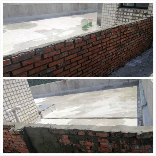 屋頂防水-施工中