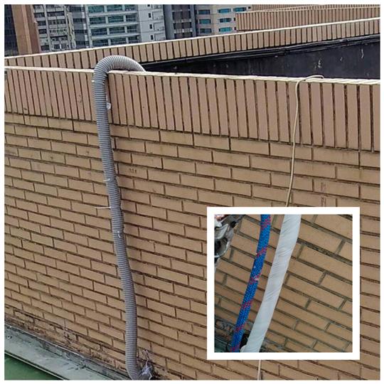 外牆冷氣銅管包覆