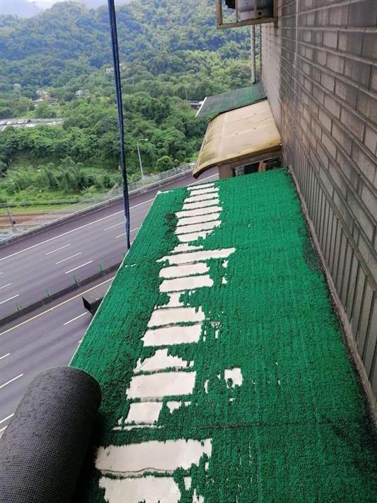 人工草皮-施工前