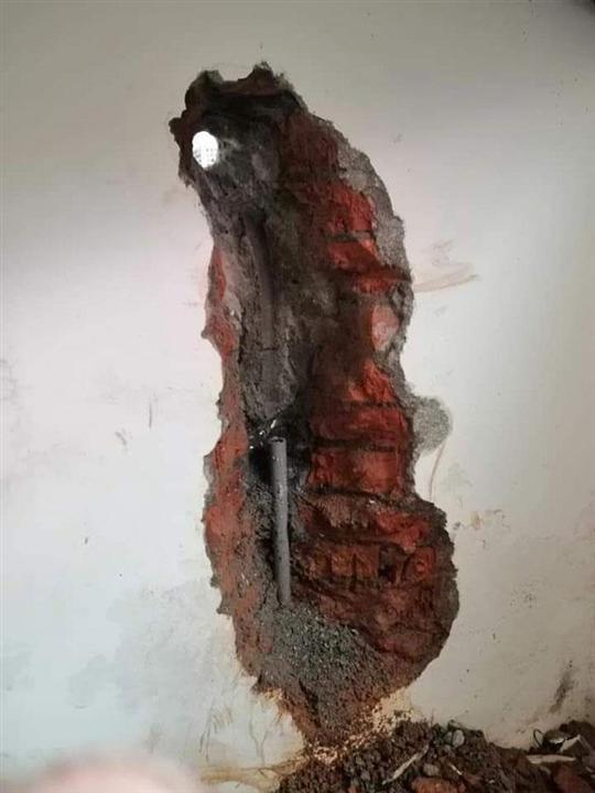水管漏水修繕-施工前