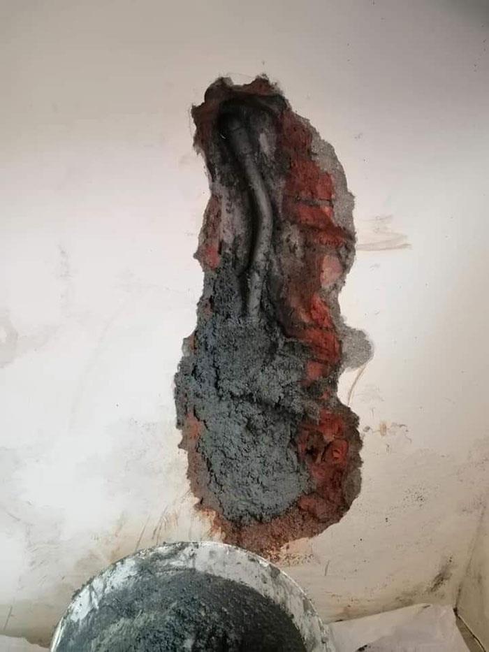 水管漏水修繕-施工中