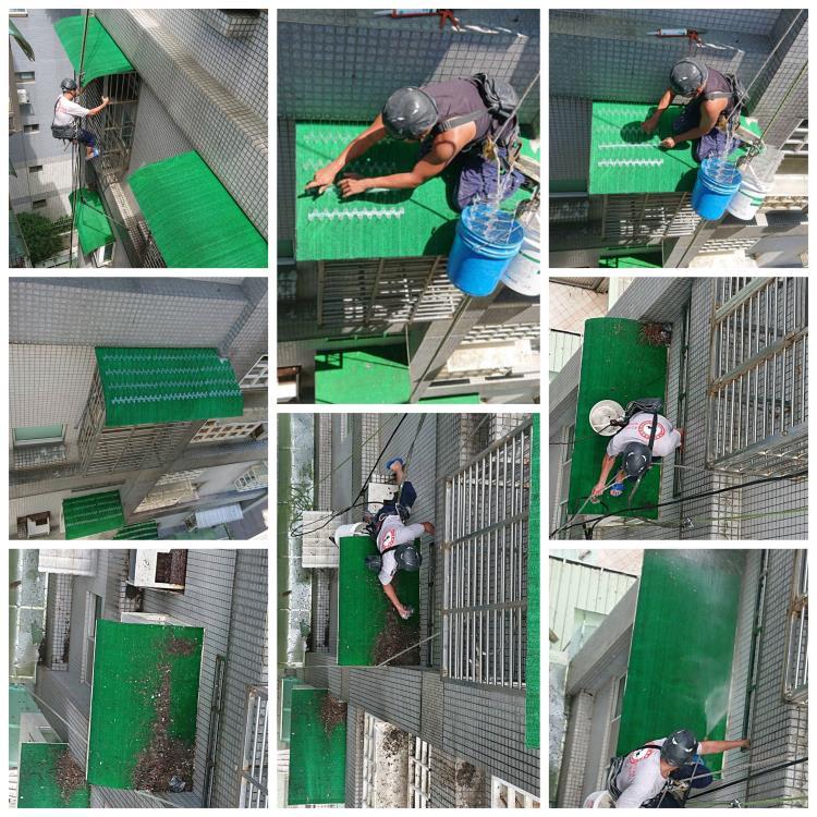 社區鴿糞清洗與安裝防鳥刺
