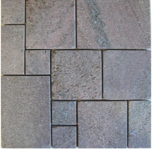 5-粉石英板岩馬賽克-MA888-1500