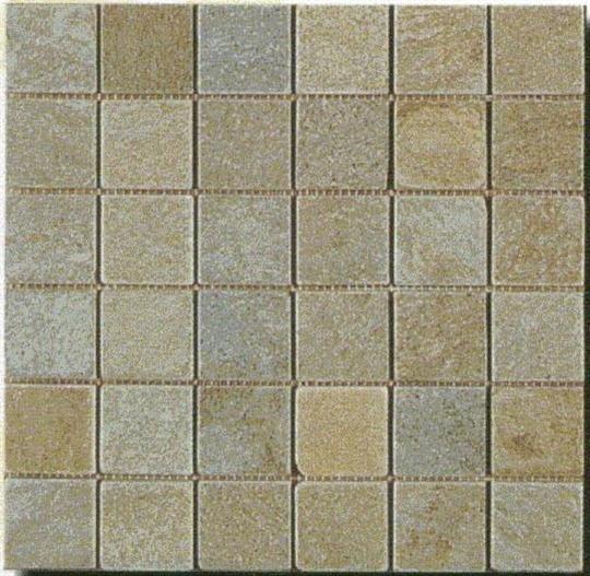 6-黃木紋板岩馬賽克-MA148-2100