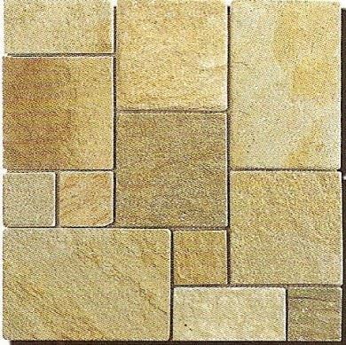 7-黃木紋板岩馬賽克-MA888-2100