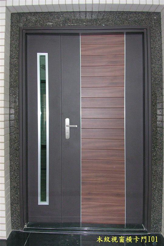 07-TM-I01木紋視窗橫卡門