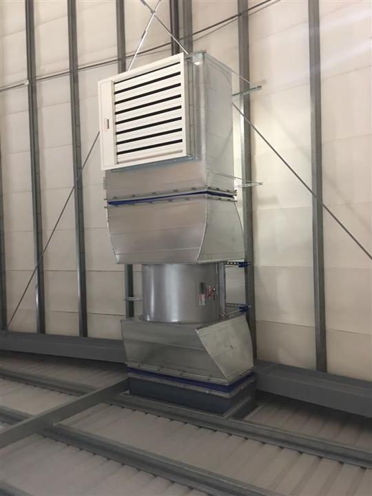 台灣績層-排煙閘門消防