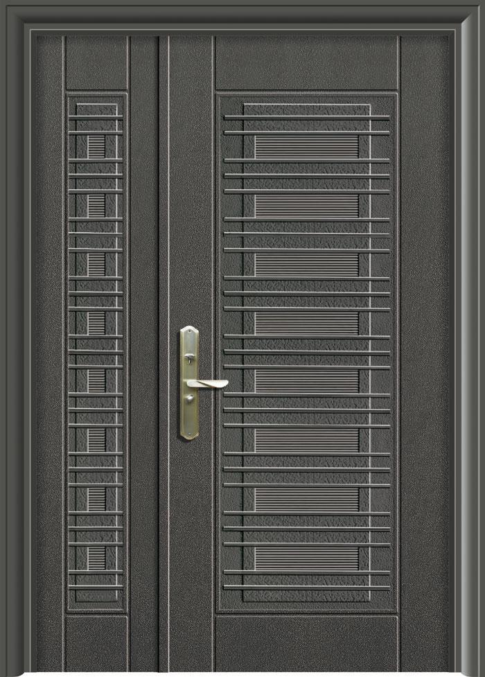 更新一層鑄鋁鋼木門