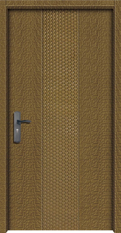交流鑄鋁直卡板雕門