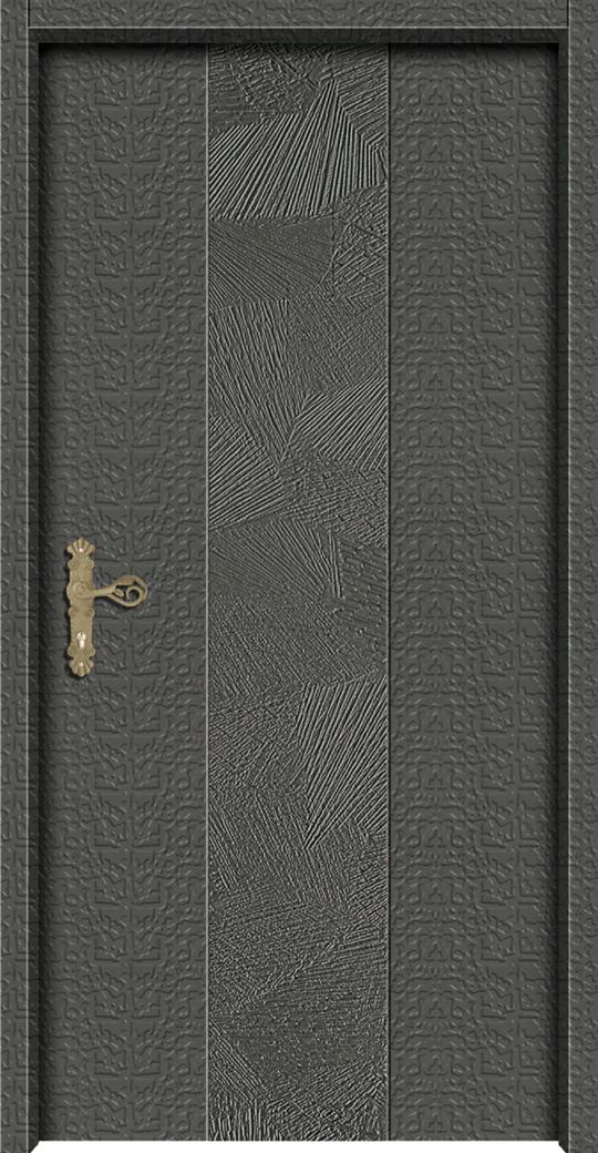千頁岩鑄鋁直卡板雕門
