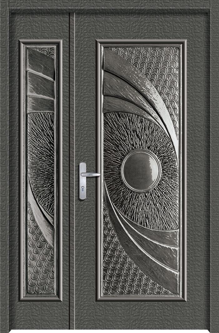 1201鋁中肚浮雕板門