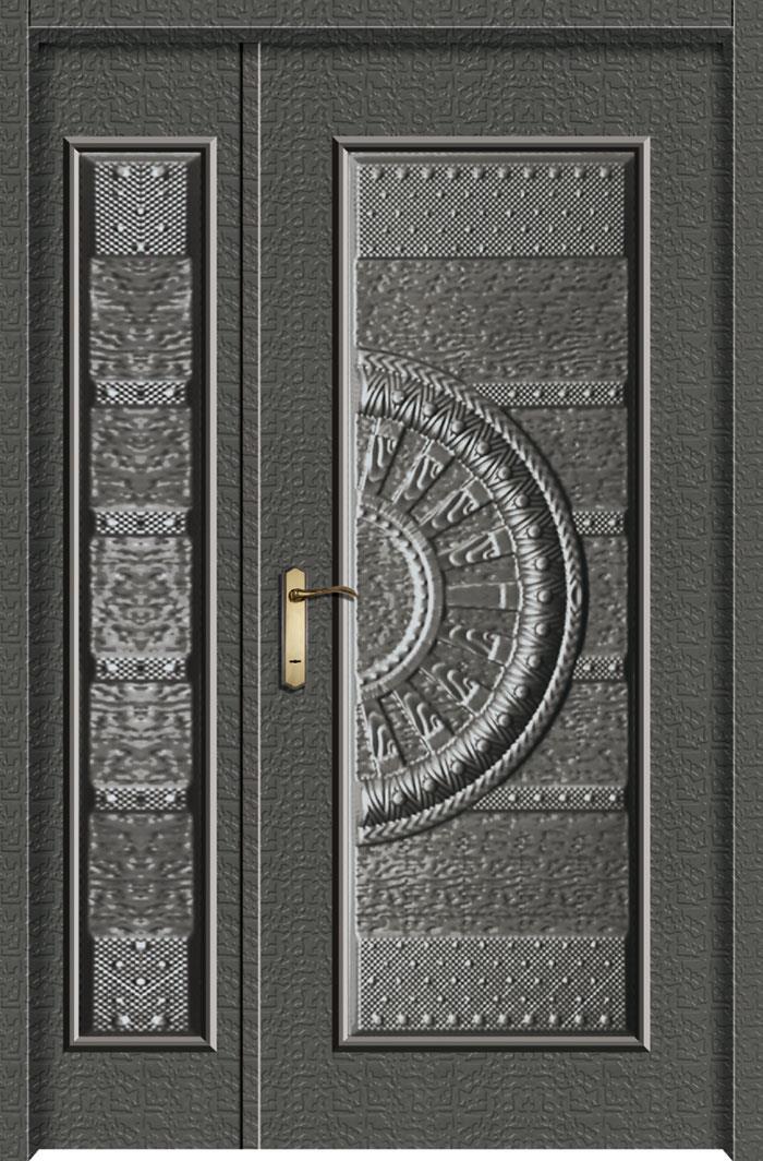 1206中肚浮雕板門