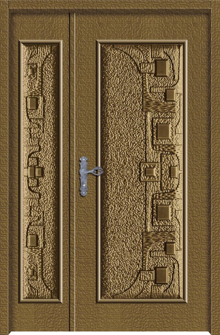 1208鋁中肚浮雕板門
