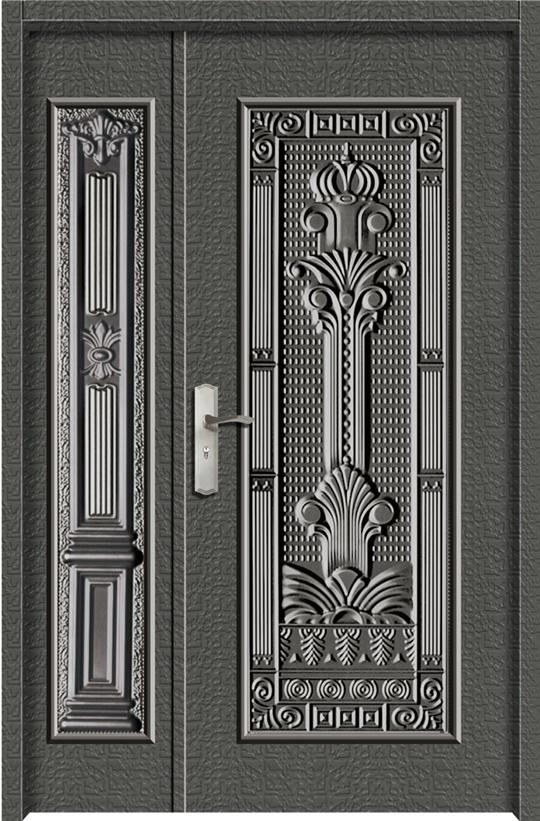 1209鋁中肚浮雕板門