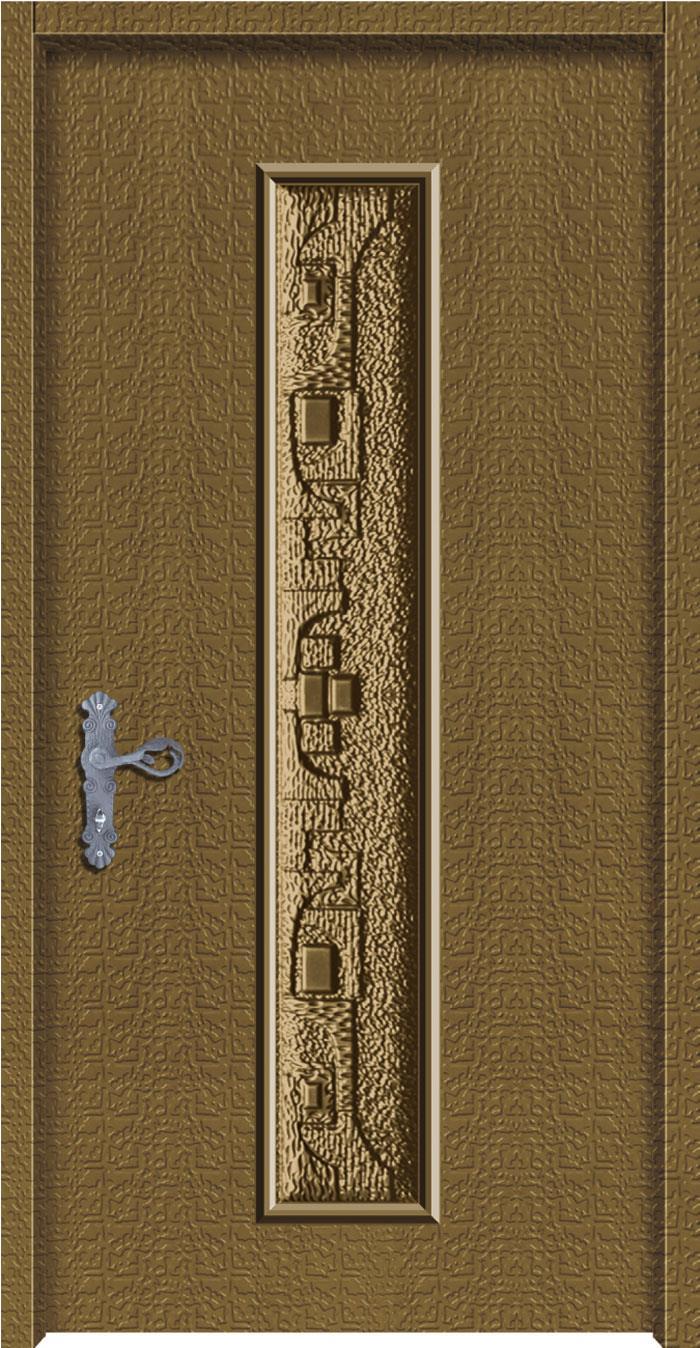 1208子鋁中肚浮雕板門
