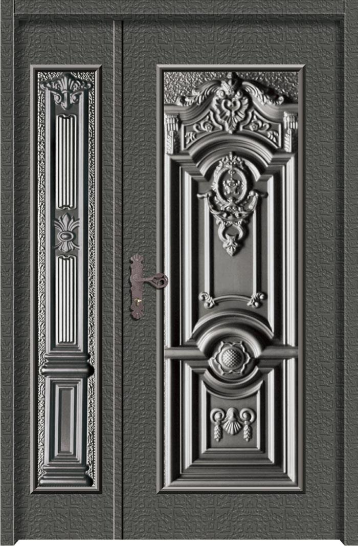 1210鋁中肚浮雕板門